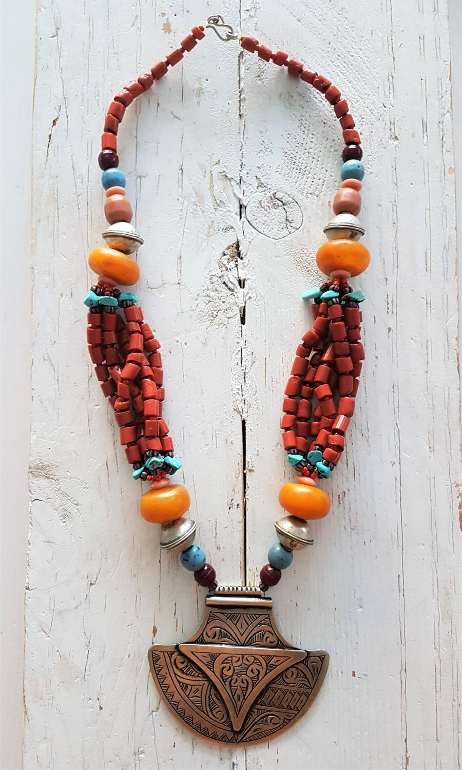 Collar Fez | 490 | Bohemian Barcelona, freespirit, lifestyle.