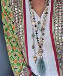 Collar Estambul plumas mix | 394 | Bohemian Barcelona, freespirit, lifestyle.